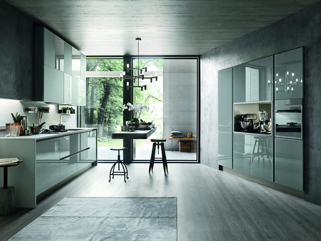Aliant stosa cucine milano - Cucine con vetrate ...