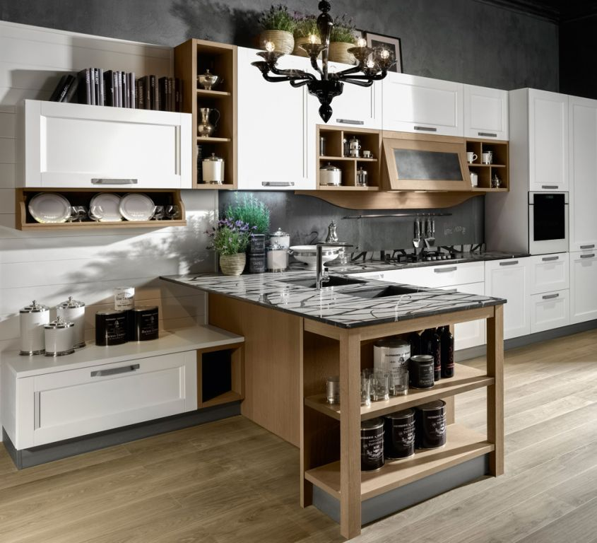 Elmar Cucine Catalogo. Fabulous Kitchen With Sliding Table Fly ...