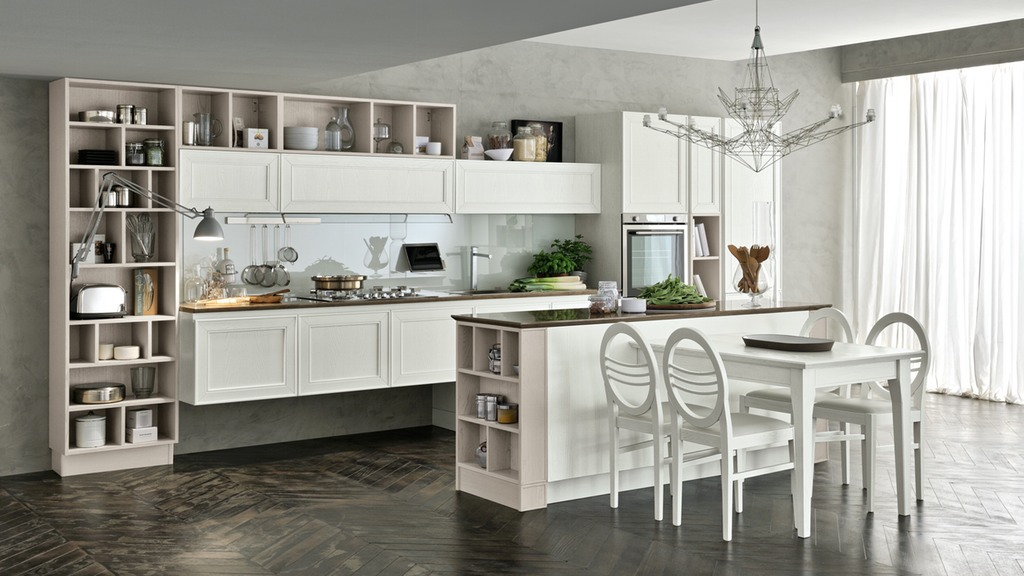 Maxim stosa cucine milano - Cucine moderne con isola centrale ...
